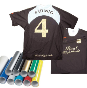 football shirts and kits numbered and named